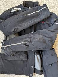 damaged jackets on bike accident