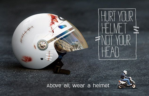 Image result for quotes for wearing helmet
