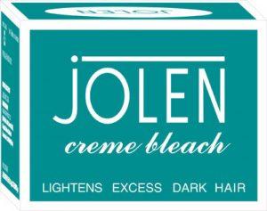 Bleach for sensitive skin