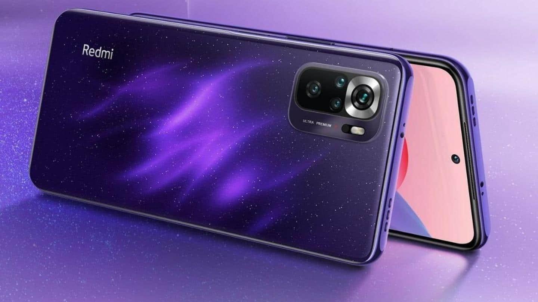 Redmi Note 10S Starlight purple variant