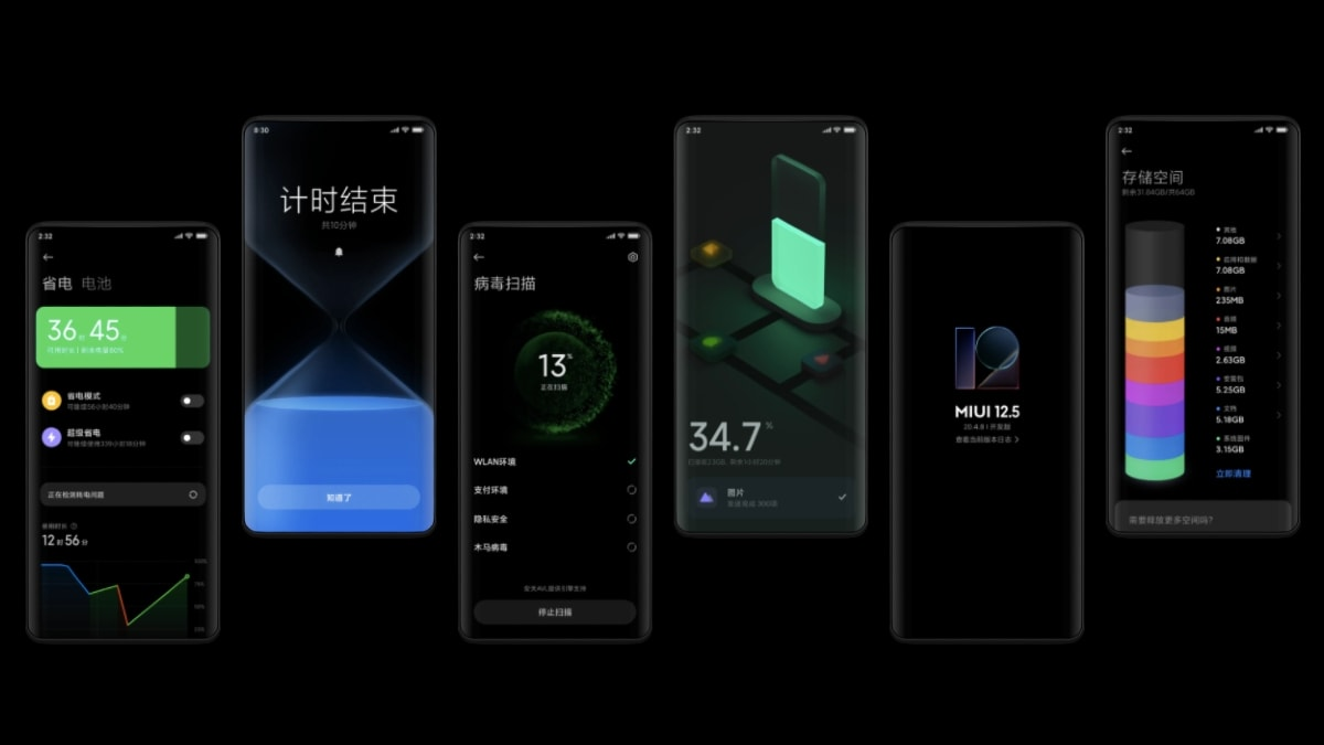 MIUI 12.5 update now available