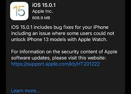 iOS 15.0.1: Apple Releases Unexpected iPhone 13 Update With Urgent Fixes